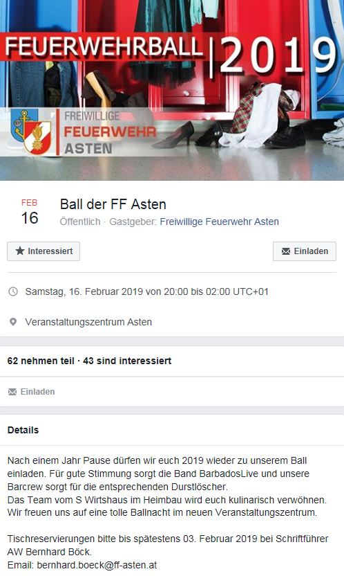 FF Ball Asten