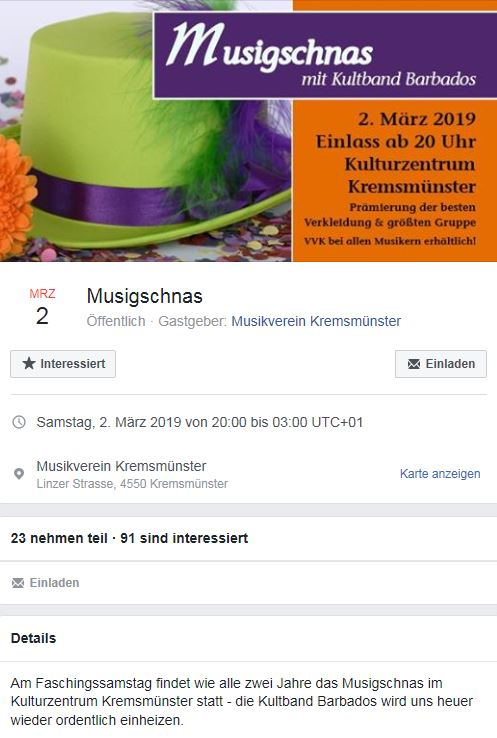 Musigschnas Kremsmünster